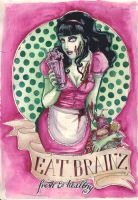 Eat Brainz by koffinkandy
