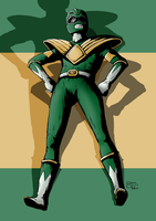 Go Green Ranger by spiketail94