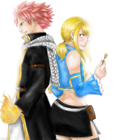 FT: Flames and Keys by cupcakeninja11