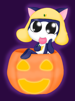 Halloween Kitty Tamama by Poppun