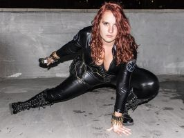 Black Widow cosplay by GosterMonster