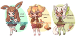 Dessert adoptables 01-03 - (CLOSED) by Lady-Bullfinch