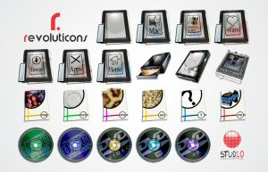 Revoluticons Suite PNG's by Evoluticons