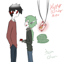 i know I'm late but... happy birthday ace by Ask-Olive-And-Oliver