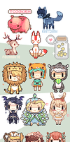 pixel commissions by okyi