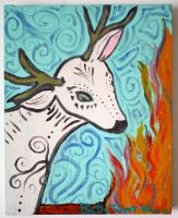 White deer spirit 2009 by beatrixxx