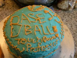 BASEBALL. GRAPEFRUIT. CAKE. by Doole63