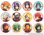 Akatsuki Badges by LanWu
