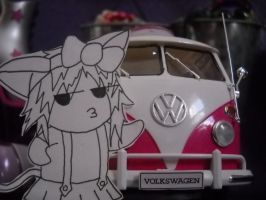 yuki and her sweet ride by quincyfangirl
