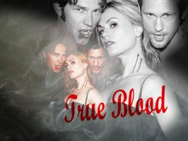True Blood company by Dominoart23