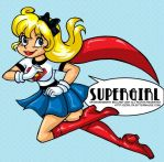 Supergirl New Colored by MaryBellamy