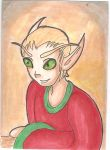 ACEO ~ BloodElf by NessieB