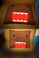 Domo Pillow -Sold- -Handmade- by AztecTemplar