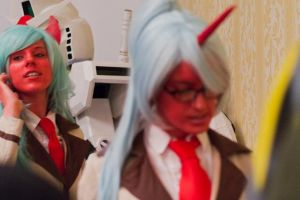 Scanty and Kneesocks by Alexia-Jean-Grey