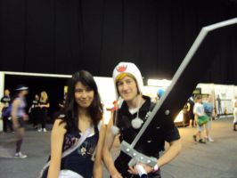 Cloud Strife wearing a hat xD by HeyVikkiTime
