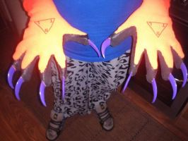 Hades Partial : Claws WIP by Hades-O-Bannon