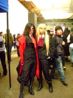 Alucard and Integra Hellsing by katary-kanae