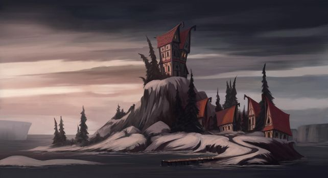 cold island by purrskill