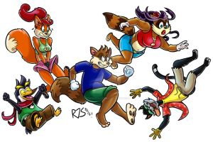 Leap by ronnieraccoon
