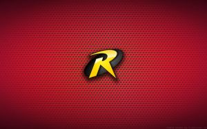 Wallpaper - Robin Comix Logo by Kalangozilla