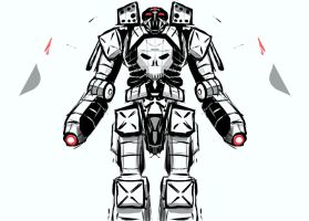 Alchemy Skull Mecha 1 by Wastelander7