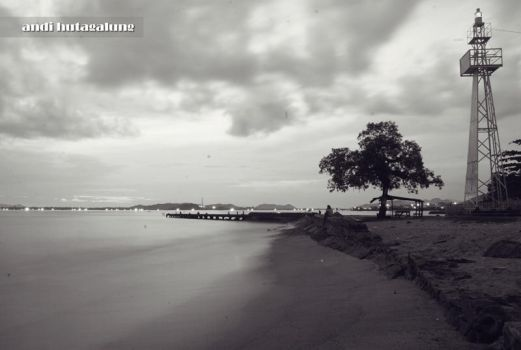 sibolga's beach. by andihutagalung