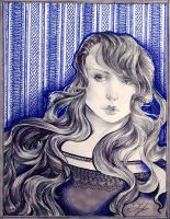 Hecate and wallpaper by Andette