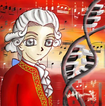 Child Prodigy - Mozart Going Moe by A-l-a-r-i-c