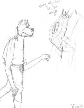 Finaly the makings of an OC and fursona! (2 of 2) by Xenogenisis-Wolf