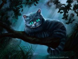 Cheshire Cat by Darkellaine