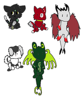 Adoptables by TundraIceadopts