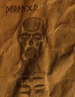 Old Parchment of the Draugr by Poorartman