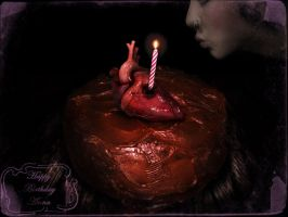 Anna's Birthday by MrBlackDarkness666