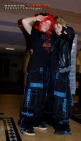 Punk Demyx and Axel by monster-assassin