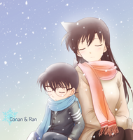 In the snow by Arya032