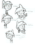 FOP Practice- Timmy Turner by Corrupted-Defect