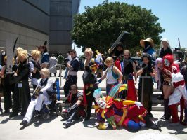 AX11: Moar Final Fantasy 8D by Sonicbandicoot
