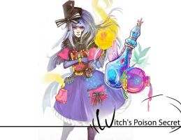 Witch's Poison Secretwallpaper by soanvalentine