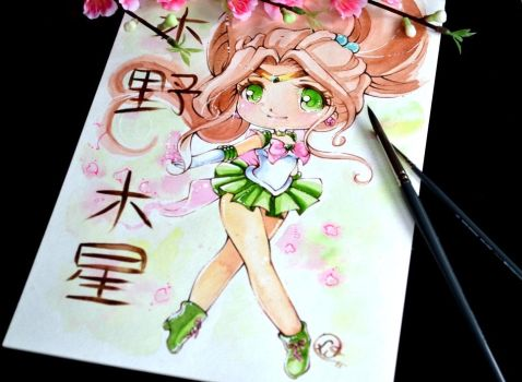 Chibi Sailor Jupiter by Lighane