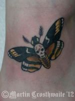 Death Moth Tattoo by mxw8