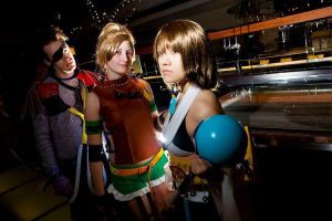 + The Fight for Spira + by hiyoko-chan