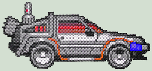 DeLorean - Bead Sprite by XinMyForehead