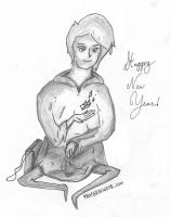 Happy New Years from Margeir by ProfessorGrinwood