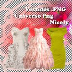 Vestidos PNG by ENicoly
