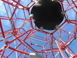 Webbed Play Structure by Eris-stock