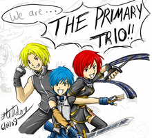 Primary Trio by Stickdog