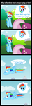Why Rainbow Dash Is Flying So Fast by MrBastoff