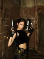 Angry Lara Croft by TanyaCroft