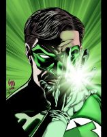 Hal Jordan by Nightblade by wrathofkhan
