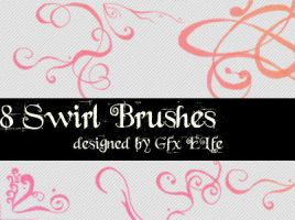 Swirl Brushes by gfx-elfe